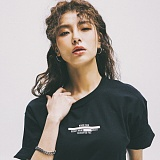 [네버에버]NEVEREVER - SECRET AGENT TEE (BLACK) 반팔 반팔티 티셔츠