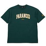 [니드네스]NEEDNESS - PARANOID TEE (GREEN) 반팔 반팔티 티셔츠