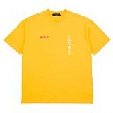 [니드네스]NEEDNESS - SHUTTER SPEED TEE (YELLOW) 반팔 반팔티 티셔츠