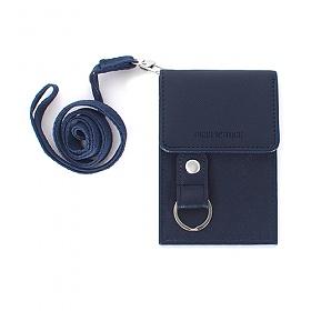 [버켄스탁]BIRKENSTOCK - W02 Navy 목걸이 카드지갑