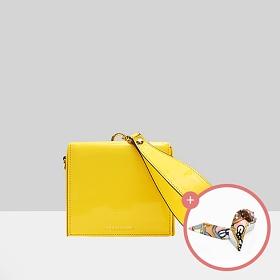(★스카프증정)[브라비시모][아이콘/배누리/문가영착용] 리안(Lianne) - Yellow 토트백 여성가방