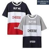 [해리슨] 치즈버거 반팔티 MD1210