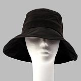 [슈퍼비젼]supervision - OVERSIZE BUCKET HAT WAX BLACK [POP] 버킷햇