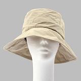 [슈퍼비젼]supervision - OVERSIZE BUCKET HAT WAX BEIGE [POP] 버킷햇