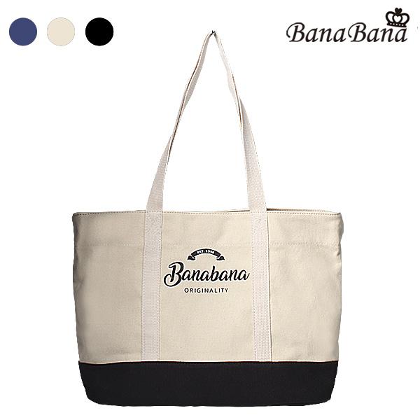[바나바나] 캔버스 에코백A HMWCA049EC8 베이지