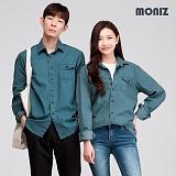 [모니즈] 히트 원포켓 데님셔츠 (2color) SHT428