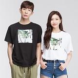 [모니즈] 썸 전사 반팔 티셔츠 (3color) TSB069