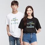 [모니즈] 코스믹 전사 반팔 티셔츠 (3color) TSB068