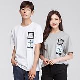 [모니즈] 머스트 전사 반팔 티셔츠 (3color) TSB064