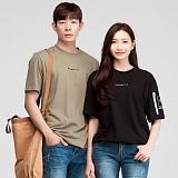 [모니즈] 항공 반팔 티셔츠 (4color) TSB063