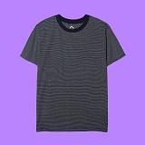 [superlative] 슈퍼레이티브 - [S] 단가라 반팔티 - 반팔 티셔츠 - 네이비