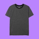 [superlative] 슈퍼레이티브 - [S] 단가라 반팔티 - 반팔 티셔츠 - 블랙