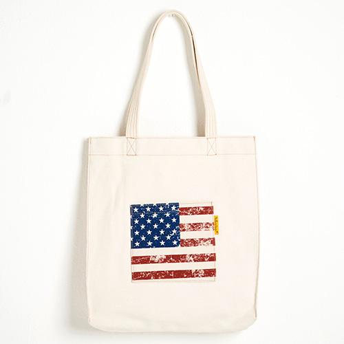 [옐로우스톤] 숄더백 FLAG BAG -YS2058US /IVORY 에코백