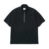 파르티멘토 - Ripstop Pullover 1/2 Shirts Black 반팔셔츠