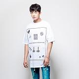 [누에보] NUEVO T-SHIRTS 신상 티셔츠 NST-7306 반팔티