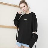 [비에이블투]BABLETWO Ring Detail Long Sleeve T-shirts (BLACK) 링 디테일 롱슬리브 긴팔티
