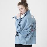 [비에이블투]BABLETWO Artist Hommage Denim Trucker Jacket (BLUE) 데님 트러커 자켓