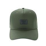 [크룩스앤캐슬]CROOKS AND CASTLES Snapback Cap - Mesh Logo RIFLE GREEN 스냅백