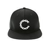 [크룩스앤캐슬]CROOKS AND CASTLES Snapback Cap - Chain C BLACK 스냅백