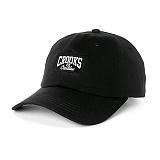 [크룩스앤캐슬]CROOKS AND CASTLES Dad Hat - Core Logo BLACK 볼캡 야구모자