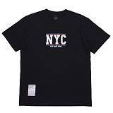 [에시드블랙] ACIDBLACK - NYC TEE (BLACK) 반팔 반팔티 티셔츠