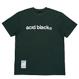 [에시드블랙] ACIDBLACK - OG LOGO TEE (GREEN) 반팔 반팔티 티셔츠