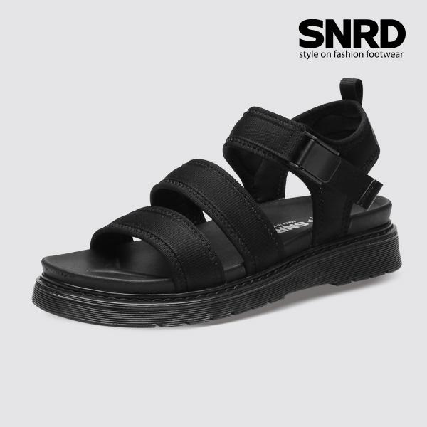 [SNRD 버클 스트랩샌들] SN238 블랙