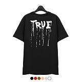 [superlative] 슈퍼레이티브 - [SST189] TRUE 반팔 티셔츠 - 반팔 티셔츠 - 6컬러