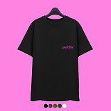 [superlative] 슈퍼레이티브 - [7J5001] CAUTION 반팔 티셔츠 - 반팔 티셔츠 - 5컬러
