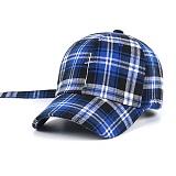 STIGMA - CRUZ CHECK BASEBALL CAP BLUE 야구모자 볼캡