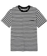 디씬 - 포켓 스트라이프 반팔 티셔츠