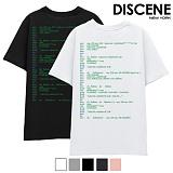 [DISCENE] 디씬 바이러스 반팔 티셔츠 5컬러