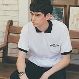[테일러스튜디오] 테일러 로고 PK 셔츠 화이트