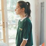 [테일러스튜디오] 테일러 로고 PK 셔츠 카키