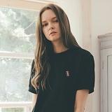 [테일러스튜디오] 럭비 라운드 반팔 티셔츠 블랙