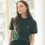 [테일러스튜디오] 럭비 라운드 반팔 티셔츠 카키