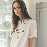 [테일러스튜디오] 테일러 베이직 반팔 티셔츠 화이트