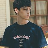 [테일러스튜디오] 테일러 베이직 반팔 티셔츠 네이비
