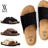 [에이벨류] 남성 벨크로 찍찍이 마직조 슬리퍼(베이지.브라운.블랙)-720 알리 남자 신발 여름 편한