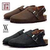 [에이벨류] 남여공용 오일 보스턴 샌달(블랙.브라운)723-아테네맨 남자 여자 신발 여름