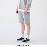 [로로팝] 17 S/S Cutting S Short Pants - 컷팅 S 트레이닝 숏 팬츠 반바지