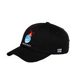 [아케이드코드] EARTH BALLCAP - BLACK 볼캡 야구모자