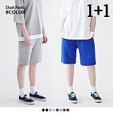 [로로팝] ★1+1★ S Short Pants Line - S 트레이닝 숏 팬츠 반바지