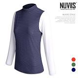 뉴비스 - 컬러 스트라이프 배색 래쉬가드 (CO033TS)