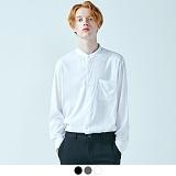 [어커버]ACOVER - FLIMSY LINEN CHINA NECK SHIRTS 플림시 린넨 차이나 넥 셔츠