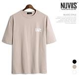 뉴비스 - EASY 나염 오버핏 반팔 티셔츠 (SM032TS)