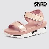 [SNRD 여성 6cm 키높이 메탈샌들] SN241 핑크