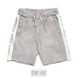 [스턴트] STUNT Harder Side Line Shorts (Gray) 레터링 라인 트레이닝 숏팬츠 반바지