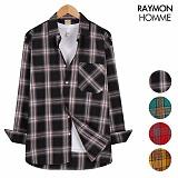 레이먼옴므 - 스트릿체크 셔츠 RH2179RW