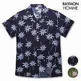 레이먼옴므 - 야자수 하와이안 셔츠 RH2092MS